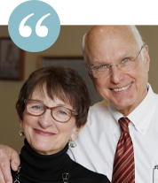 Jane and Ned Gladstein , JTS donors