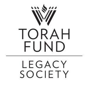 A Change in Leadership in the Torah Fund Legacy Society